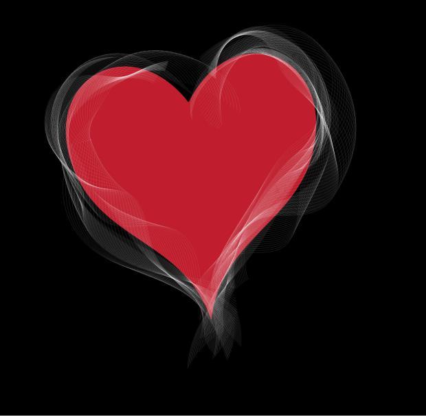 heartRedWhite